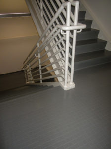 Tarkett Stair Treads w/ Landing Tile