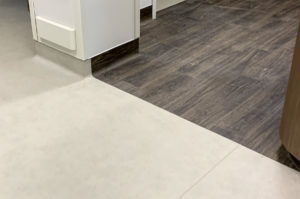Tarkett Acczent - Long Modern Oak Dark & Concrete Gray