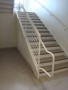 Tarkett Stair Treads, Cove Base & Optima