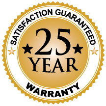 Cert Icon 25 Yr Warranty