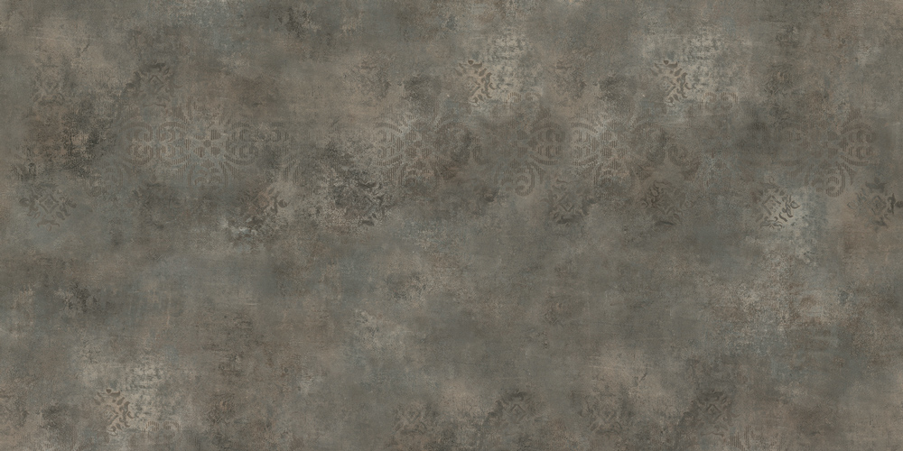 Stenciled Concrete Bordeaux Nst435