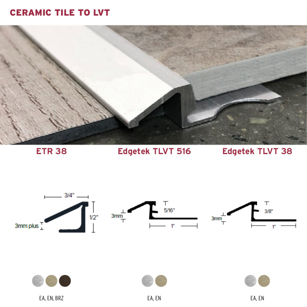 Ceramic Tile To Lvt